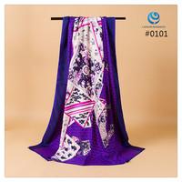 2014 Big Size 140x140cm Fashion Brand Silk Square Scarf Women   Silk Satin Scarves silk Shawl  Print High Quality #010