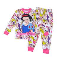 snow white 2014 new baby cotton pajamas children winter spring leopard pyjamas kids long sleeve t shirts pant clothing 2 pcs set