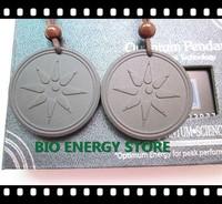 BES-L033 10pcs/lot meteor design with original card lava scalar energy pendant