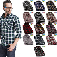 2014 fashion casual men clothing slim fit full sleeves soft cotton plaid breathable leisure shirt 13 colors camisa masculina