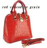 8 Color women Crocodile Grain Pattern PU Leather Women Handbag Fashion Bag/ Tote Bags Promotion vk1337/vk1338