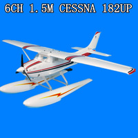 EDO Big RC HOBBY PLANE  6ch 2.4G EPO 1.5m Large Cessna 182 and CESSNA 185 seaplane electric KIT ONLY