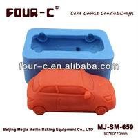 Free shipping car silicone cake mold,soap mold,3d silicone mold