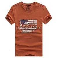 Hot sales Free Shipping Men's New Summer Cotton Size t-shirt men's T-shirt