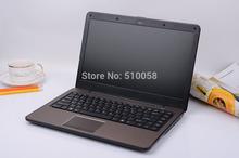High quality ! 14inch notebook computer Ultrabook laptop PC Intel Ivy Bridge i3-3217U ULV dual core 4GB DDR3 500GB HDD window7/8