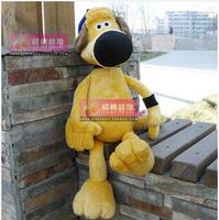 25cm high Genuine NICI Shaun yellow dog head dog plush toy doll birthday holiday gift to send children home furnishings car doll