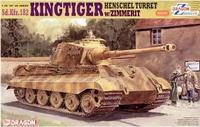 Dragon model 6303 1/35 Sd.Kfz.182 KINGTIGER  tank