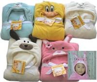 free freight lovely animal pattern baby blanket soft frank velvet baby blanket for 0-6 years kids