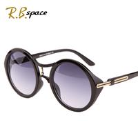 2014 Round box vintage sunglasses women's big box fashion star style big box sun madam glasses sun glasses