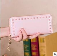 Free Shipping!2014New Hot Sale Brand Designer Women Leather Wallet Fashion Women's Wallets Lady Change Purse Clutch Phone bag