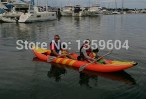 2 Person Inflatable Kayak New Orange(China (Mainland))