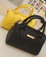 Special offer !MM 2013 Fashion Brand women Handbag Ladies Handbag, Messenger Handbag Mango Black Plaid Bucket Handbag