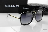 Europe and America retro sunglasses brand designer black for women