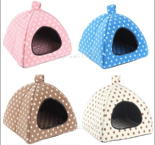 Pet Dog Cat Tent House Bed