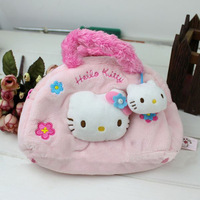 Brand New Handbags Hello Kitty Bags for Women Girls 2014 Plush Women's Totes Free Shipping