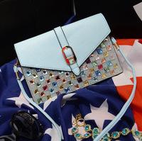 Free shipping New 2014 fashion bag Women's leather handbag brand designers shoulder crossbody bags DDW93
