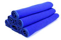 Free shipping 5PCS Blue Microfiber Car Auto Clean Wash Polish Towel Cloth 30X70CM #24683