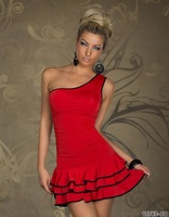 2014 new sexy lingerie  Supply lingerie club in Europe and America clothing color Black red N094