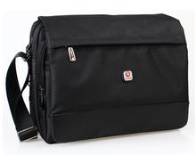 Men Messenger Bags Canvas Bag Men Shoulder Bags for Computer & Laptop Notebook Brand Black Cross Body Bags Briefcase Waterproof(China (Mainland))