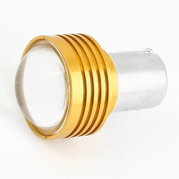 Hot New Vehicles Car 1156 3W White LED Projector Lens Turning Signal Light Wholesale free shipping