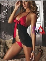 M-SEX New sex products promotion costumes women underwear lady sexy lingerie transparent conjoined dress suit
