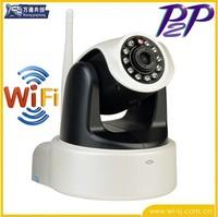 Free shipping ONVIF Wireless IP Camera H.264 0.3MP HD PTZ WIFI CCTV Camera P2P Night Vision IR Security Camera