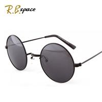 2014 Limited Rushed Freeshipping Adult Unisex Photochromic Alloy Black Sunglasses Fashion Glasses Vintage Big Box Sun Female