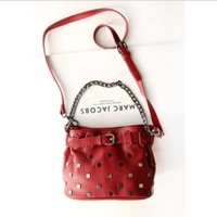 Free shipping! Retro fashion bucket type single shoulder bags, with metal.