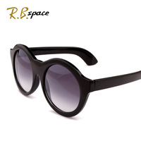 2014 Seconds Kill Promotion Freeshipping Adult Dwarfed Women's Sunglasses Fashion The Trend of Glasses Oversized Circular Frame