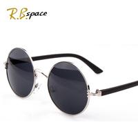 Vintage Seconds Kill Real Freeshipping Adult Women Circle 2014 Glasses Prince's Sun Fashion Personalized Female Sunglasses Box