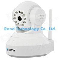 "VStarcam T7837WIP 1/4"" CMOS 1.0MP P2P Wireless IP Camera   10-IR-LED / Wi Fi - White"