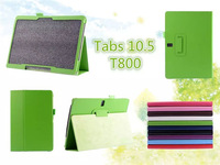 200PC/LOT Tab S 10.5 Flip PU Leather Case For samsung galaxy tab s 10.5 T800 Cover Case ,10 Color