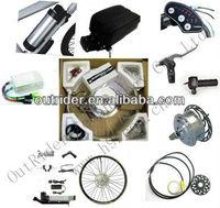 ORK-MINIV  36V 250W  Disc Brake Hub Motor Electric Bicycle Conversion Kit  Kettle Shape Lithium Battery CE CE EN15194