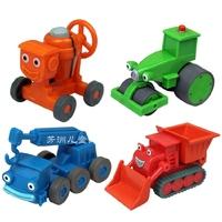 NEW Origin boy Toy alloy metal toy Bob the builder toy car cartoon model carts 4 PC / set FREE SHIPPING
