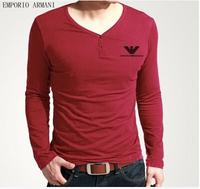 Free shipping ,men's brand shirt ,fashion Autumn t shirt for man ,good quality ,Men's casual cotton t shirt.TB-58