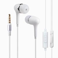 ULDUM bass headphones with mic 3.5mm stereo plug headset in-ear earphones