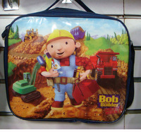 Child small bag kid lunch bag Bob the builder backpack one shoulder casual school bag 1pc FREE SHIPPING