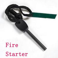 Field Camping Survival Magnesium Stone Flint The Bar Ignition Fire Starter Maker flintstone Kit Outdoor Survival, Wholesale