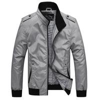 2014 winter new Brand Men's outdoor Jacket,Male Grey Casual Polo Jackets,Men Sportswear Windcheater Military Clothing