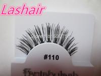 fake eyelashes makeup hand-made human hair eyelash extension #110 red cherry lashes