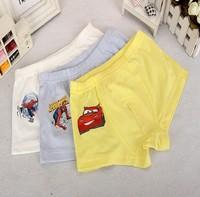 New 2014 High quality baby boy underwear boxer kids soft cotton lycra print children panties solid shorts kids accessories