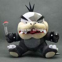 "Free Shipping New Cute Super Mario Bros Koopa Morton Jr. Koopalings Plush Doll Toy 7"""
