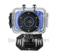 Cheap waterproof Sports DVR Helmet Action Camera Sport Outdoor mini Camcorder DV hot digital video cameras free shipping