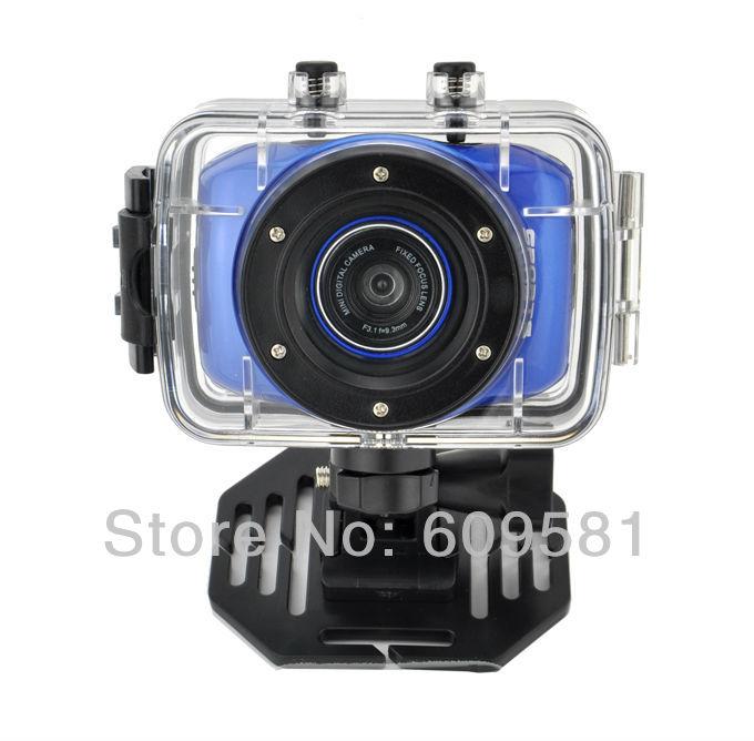 Cheap waterproof Sports DVR Helmet Action Camera Sport Outdoor mini Camcorder DV hot digital video cameras free shipping(China (Mainland))