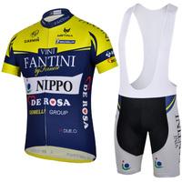 2014 Men Bike Clothing  Cycling suit jersey+bib shorts BIcycle kits riding sportswear S-XXXL