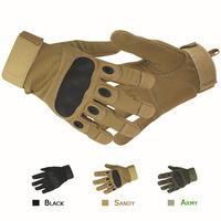 Tactical Gloves Military Gloves Army Tactical Full Finger Gloves Outdoor Cycling Gloves 3 Colors