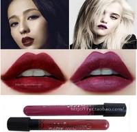 New Arrival Waterproof Elegant Dark Vampire Color Lipstick matte smooth lip stick lipgloss Long Lasting Party Queen Lip Makeup