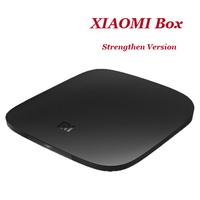 Original XIAOMI Box Internet Airplay Quad Core 2GHZ Wifi Mali-450 MP6 2G RAM 3840x2160P android Smart 4K Ultra HD Xiaomi TV Box