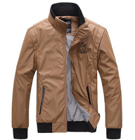 2014 Spring Fashion New Brand Clothes Men's Jacket Autumn Summer College Jackets Man Windcheater Clothing Plus Size XXXL