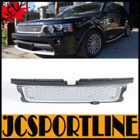 ABS Silver 205-2009 Auto Car Grills, Front Bumper Grill Grille For Land Rover RRS  (Fit For RRS 05-09)